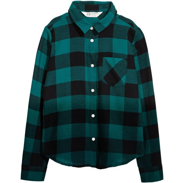 Flannel Shirt $19.99 ($20) ❤ liked on Polyvore featuring tops, long sleeve button shirt, long-sleeve shirt, collared shirt, button shirt and long sleeve tops