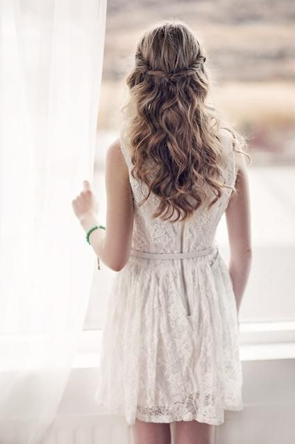 Hairstyles For Long Hair Dinner : ... Dinner Dance on Pinterest How to braid, Hairstyle for long hair and