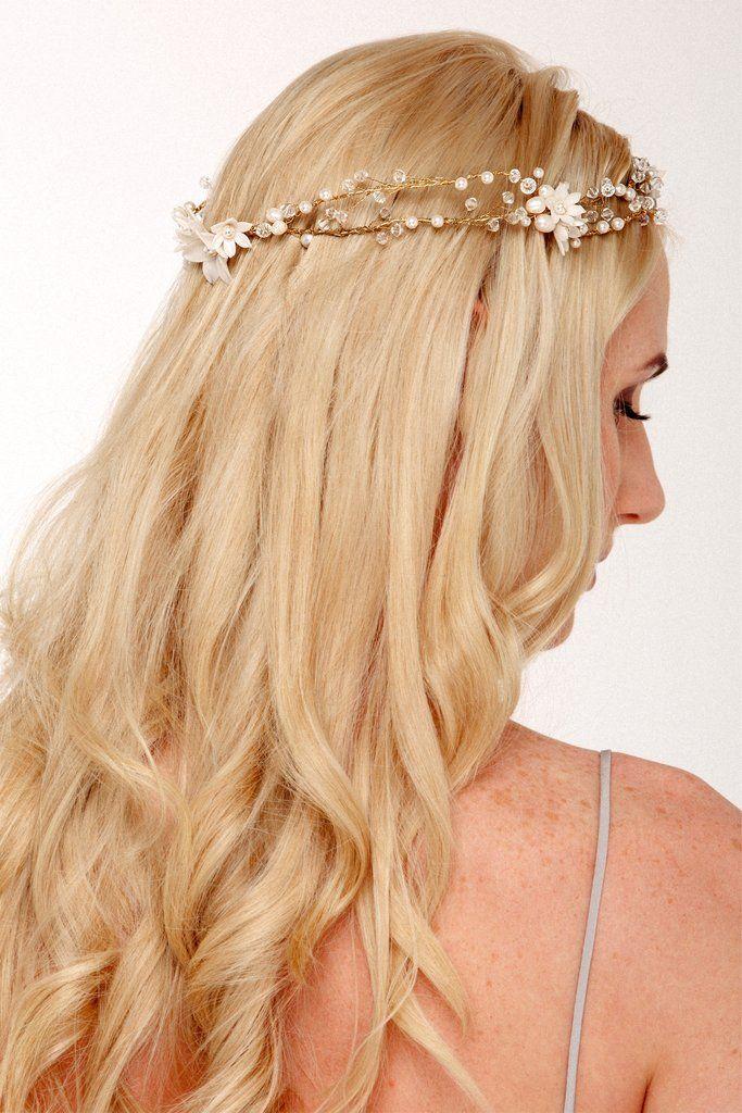 Bridal Flower Crown – Helen Irene Handmade