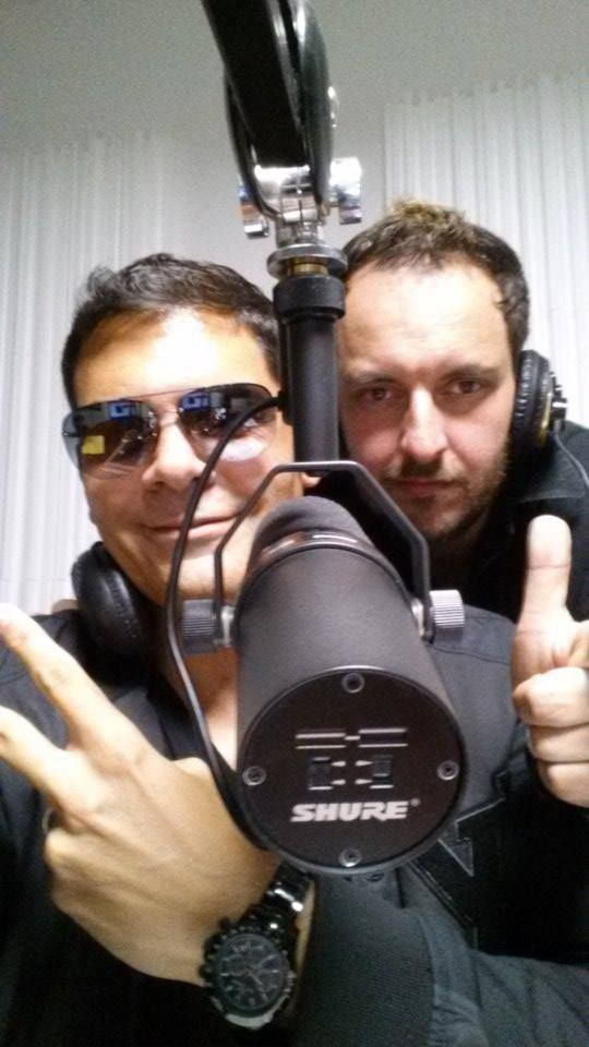 Roby & Sergio Cerruti on air