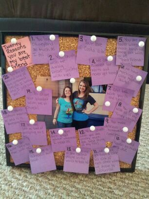 I Saw This But Made It Toally My Own Gave To Best Friend For Her 20th Birthday