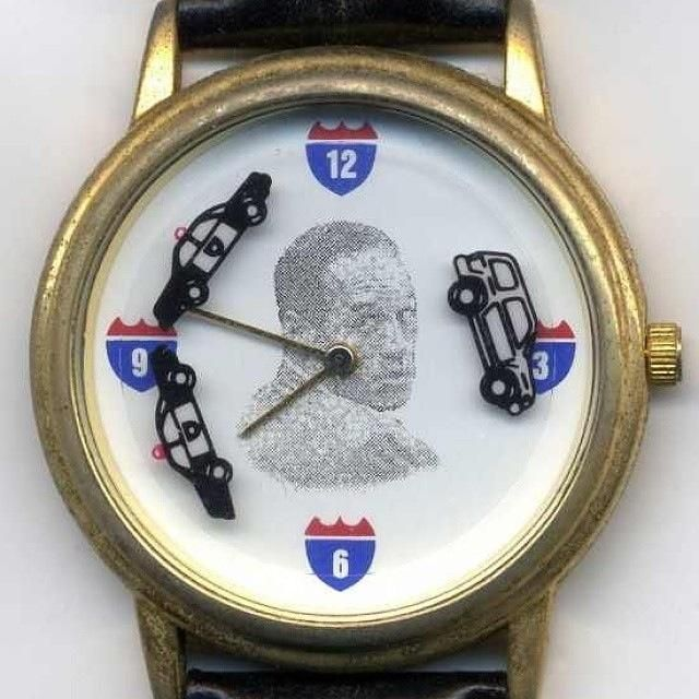 The O.J. Simpson 20 year Anniversary Commemorative Car Chase Watch!