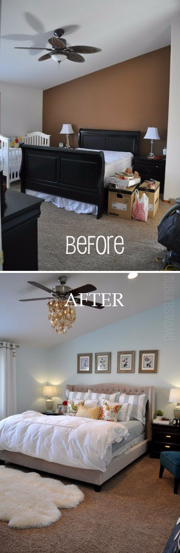 566 Best Bedroom Images On Pinterest Bedrooms Future House And How To Wire A Ceiling Rose In Simple Steps Craftomaniac Creative Ways Make Your Small Look Bigger Paint With Light Hues