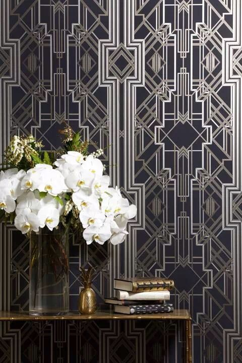 Gatsby inspired wall.