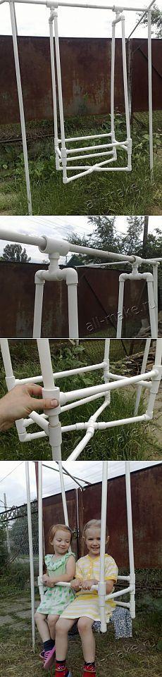Качели из трубы ппр диаметром 25 » самоделки своими руками - сделай сам из подручных материалов