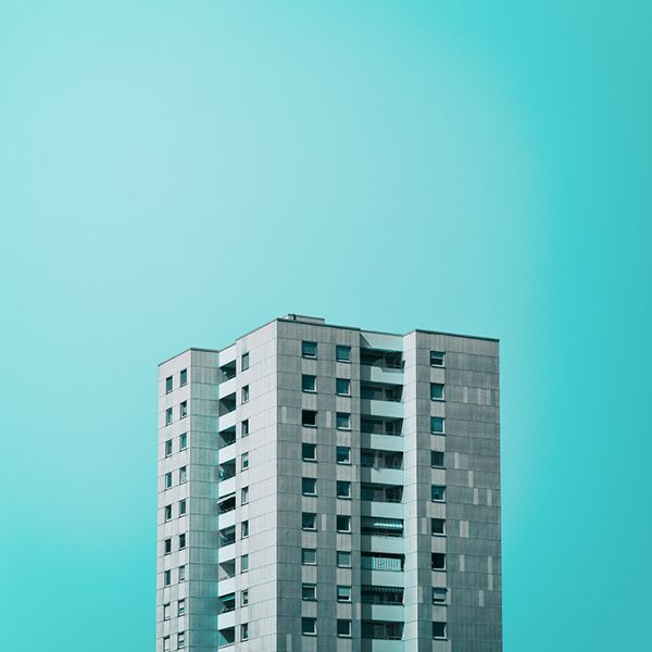 Nick Frank, Photographer - Architecture - Colors - Minimal - Turquoise