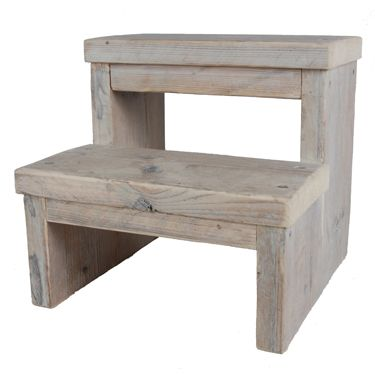 Keuktrapje opstapje steigerhout kitchen trend woonaccessoires meubels nieuw