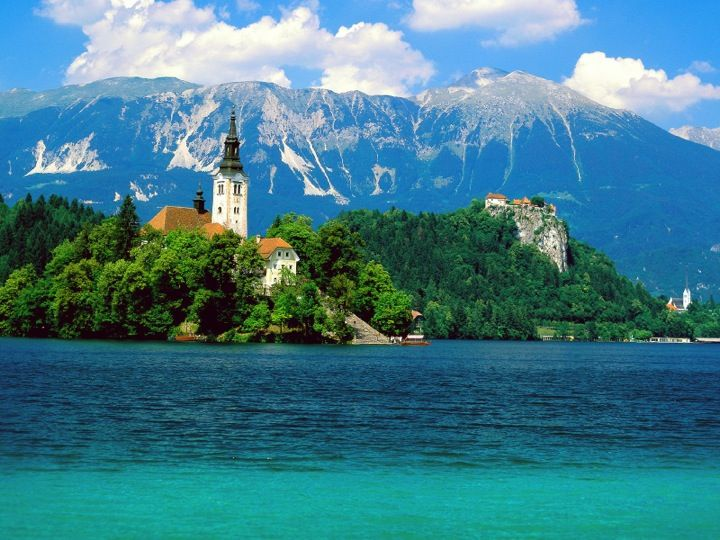 Blejsko Jezero / Lake Bled in Občina Bled, Občina Bled