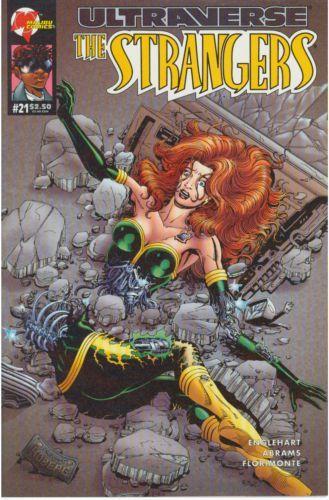 malibu comics | The Strangers #21
