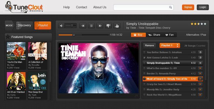 Streaming Player Design by webline