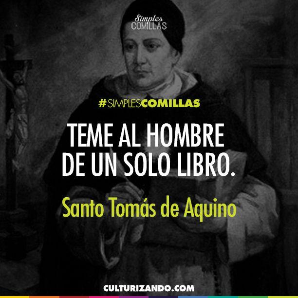 Santo Tomas De Aquino Frases Regalo Pinterest