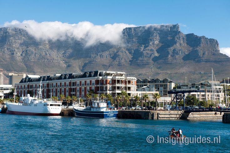 Kaapstad met op de achtergrond de Tafelberg.