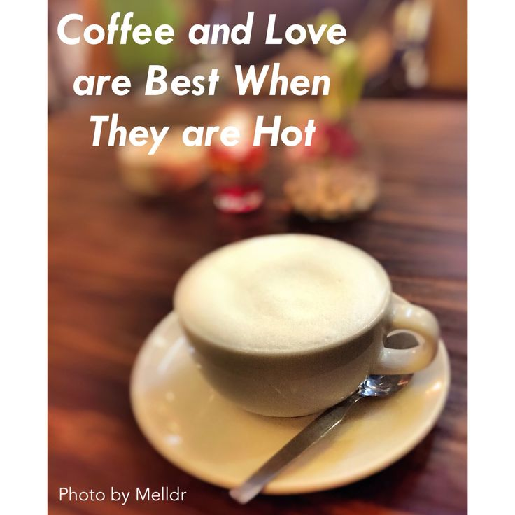 Coffee and love