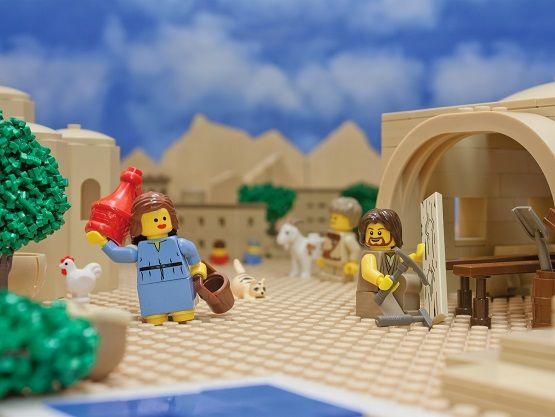 Waarom kerst 2015 het kerstverhaal in lego verbeeld door Brendan Powell Smith spirituele Kerst.001