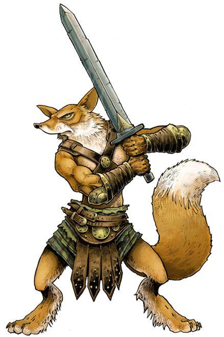 только, картинка лиса воин бесподобный
