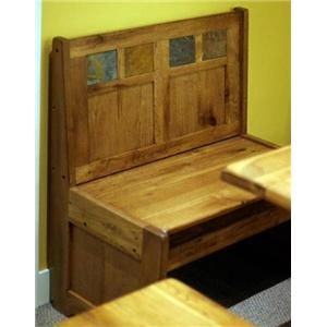 Sedona Rustic Oak Butterfly Table With Storage By Sunny Designs Furniture And Appliancemart