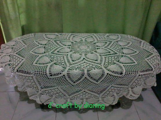 crochet -- table cloth