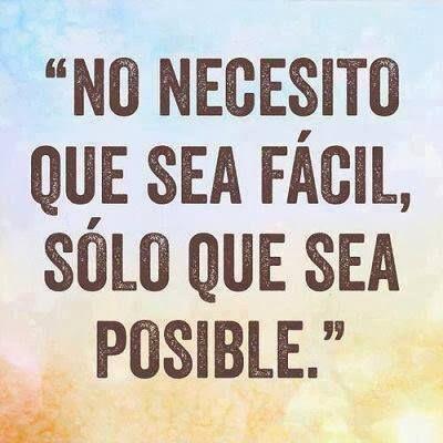 No necesito...  #frases