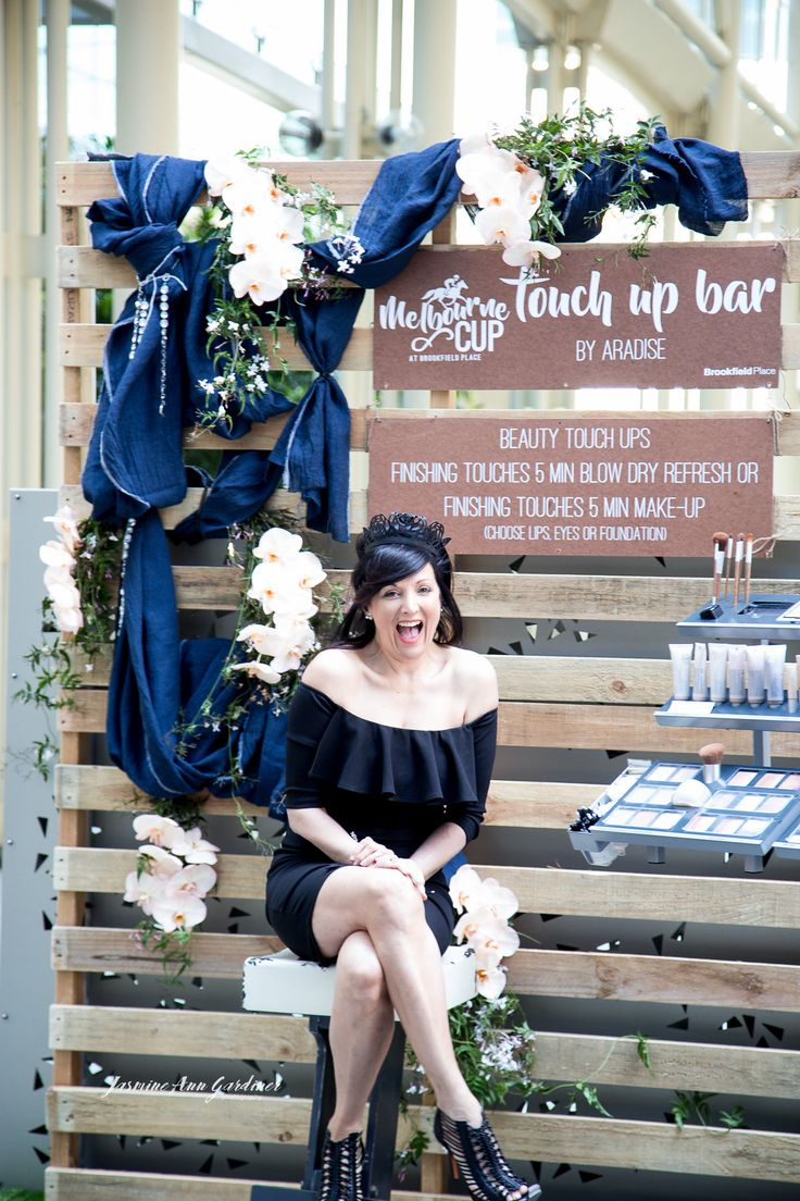 DY.o events (aka Duo)  Melbourne Cup Blue and white, Touch up Make up bar By Aradise