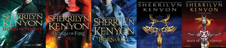 Sherrilyn Kenyon, The League Series The roommate got me reading these! If you like Futuristic stories check them out. You'll love them.