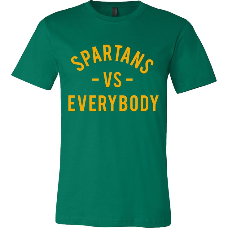 SPARTANS VS Everybody (Norfolk State inspired - yellow)