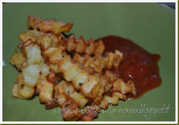 Le Ricette della Nonna: Patatine fritte casalinghe con ketchup