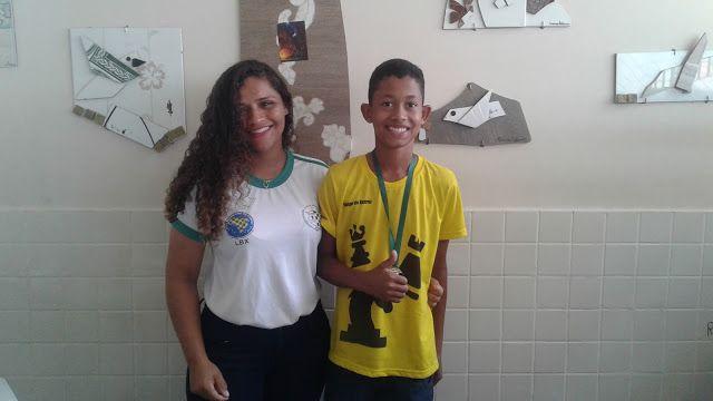 Clube de Xadrez Marabá: JEMS 2017 Ytallon e Joice vencem no Infantil