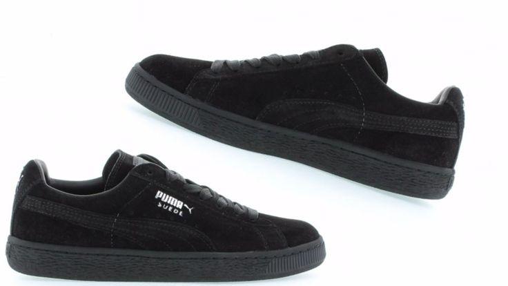 Puma Men's Suede Classic Eco Black / Grey 352634-77 #PUMA #35263465