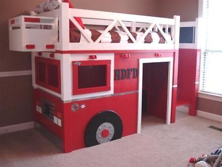 30 besten feuerwehr kinderzimmer bilder auf pinterest - Feuerwehr bilder kinderzimmer ...