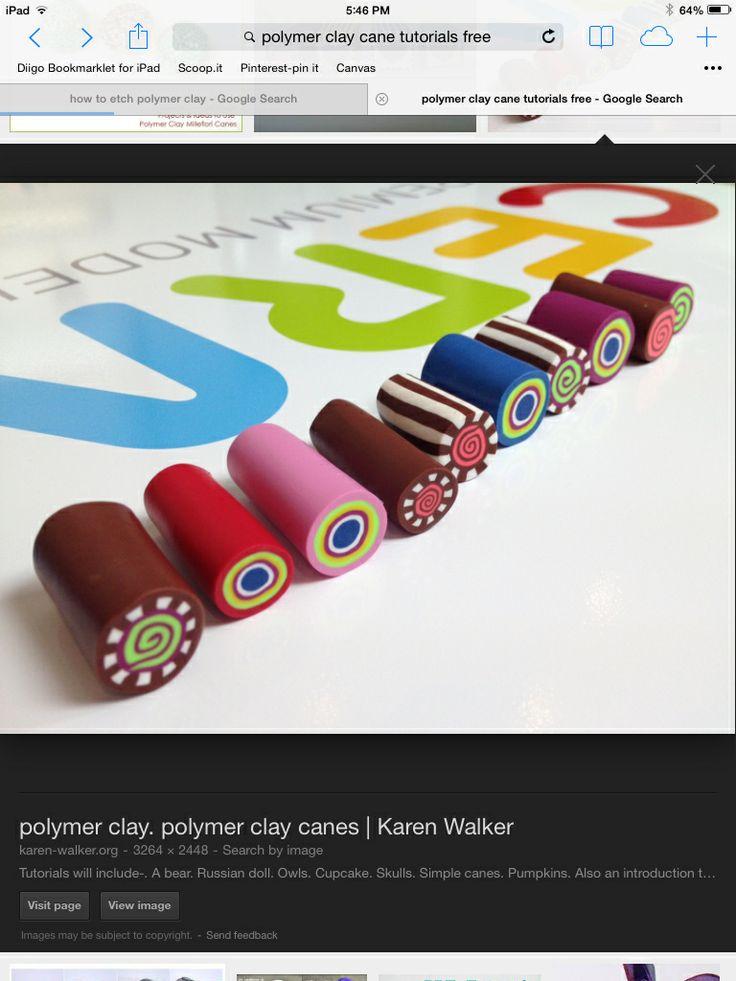 Color canes