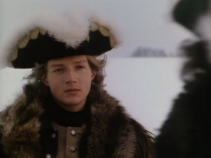 """Christoph Eichhorn as King Charles the 12:th of Sweden in NBC-mini series """"Peter the great"""""""