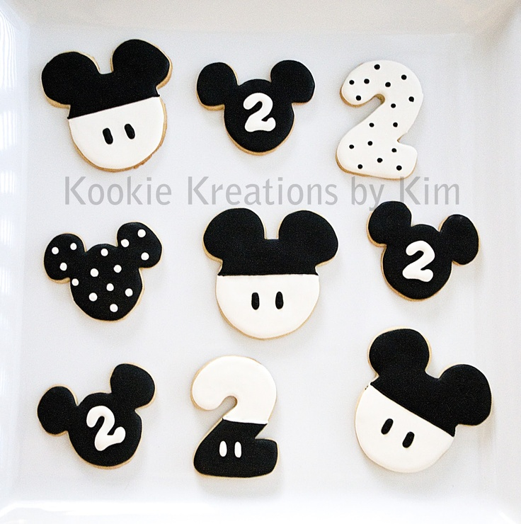Vintage Mickey cookies  Kookie Kreations by Kim