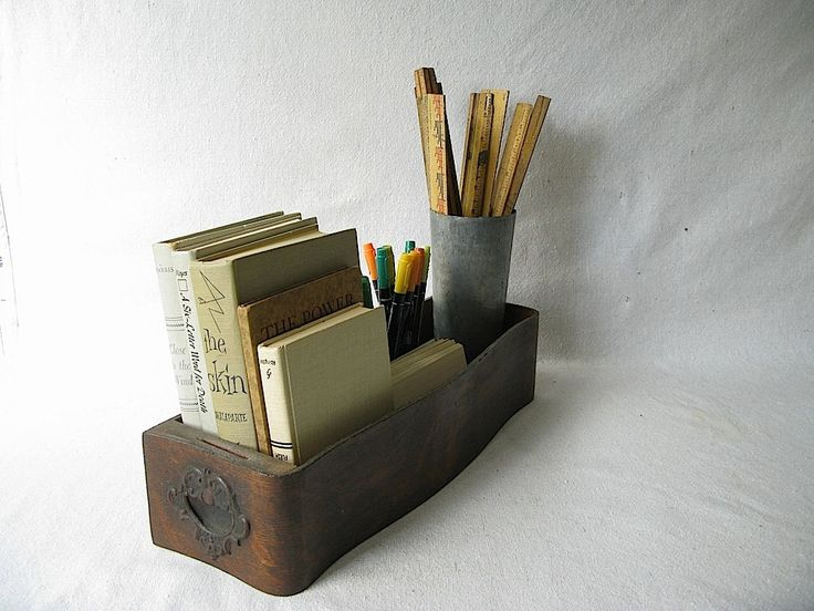 Ideas for my vintage sewing machine drawers