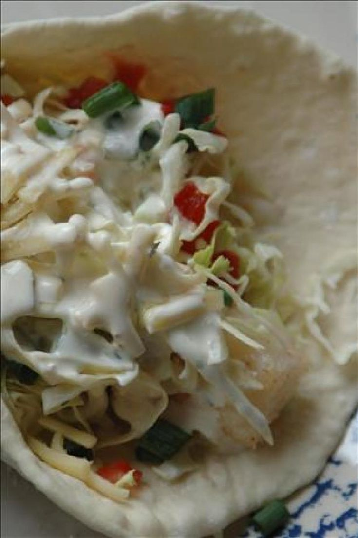 Supreme Tilapia Fish Tacos Recipe from The Authentic Mexican Kitchen