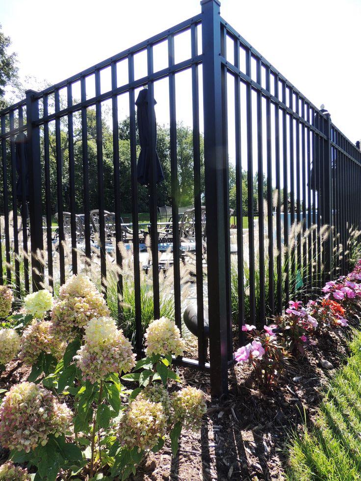 83 Best Images About Aluminum Fence On Pinterest