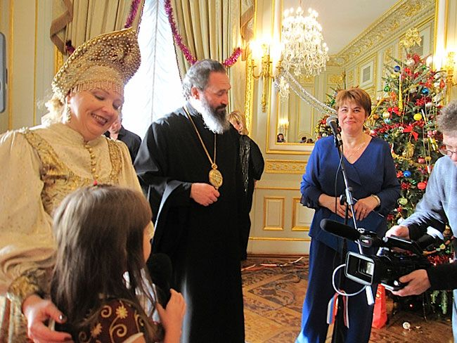 В генконсульстве РФ в Нью-Йорке отпраздновали православное Рождество, russian cristmas in NEW YORK