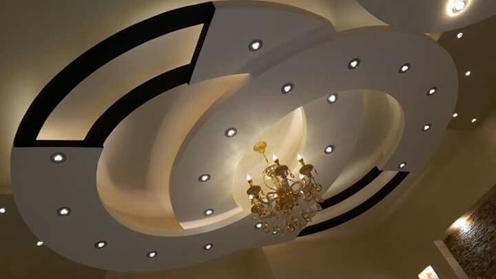первом потолки из гипсокартона в виде кольца фото настоящее время звезда