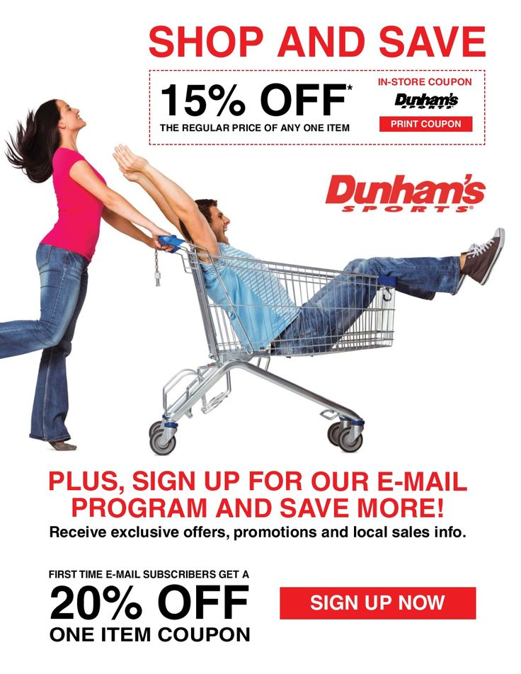 Dunham Sports October 15 - 20, 2016 - http://www.olcatalog.com/dunhams-sports/dunham-sports.html