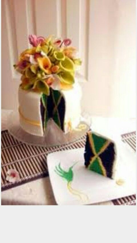 Wedding cakes jamaica west indies
