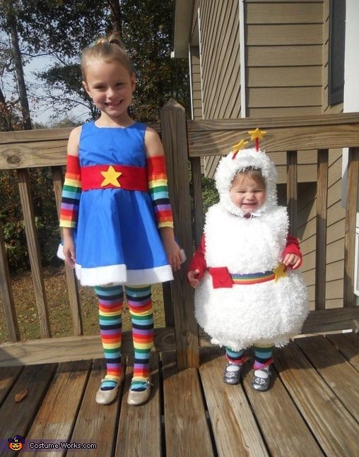 Rainbow Brite and Twink - Halloween Costume Contest via @costumeworks