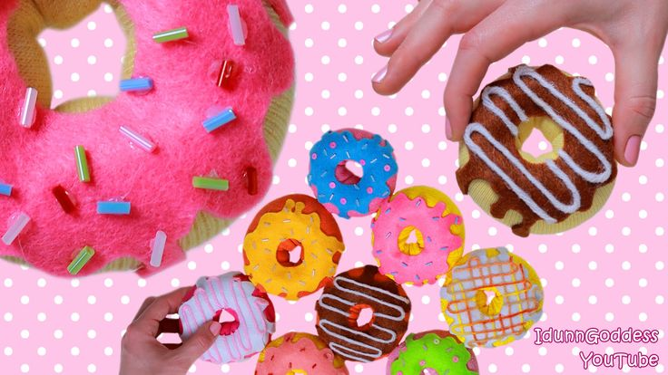 How To Make Donuts Out Of Socks - 9 DIY Donuts No-sew Projects (Pillow, ...