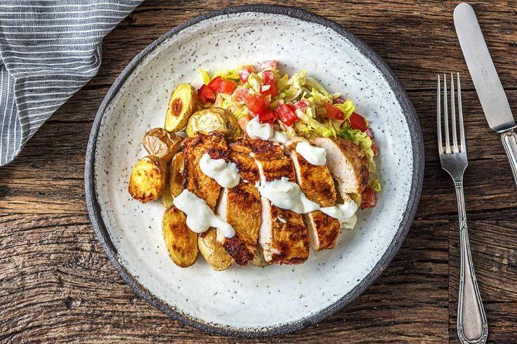 Tandoori Chicken with New Potatoes Recipe | HelloFresh