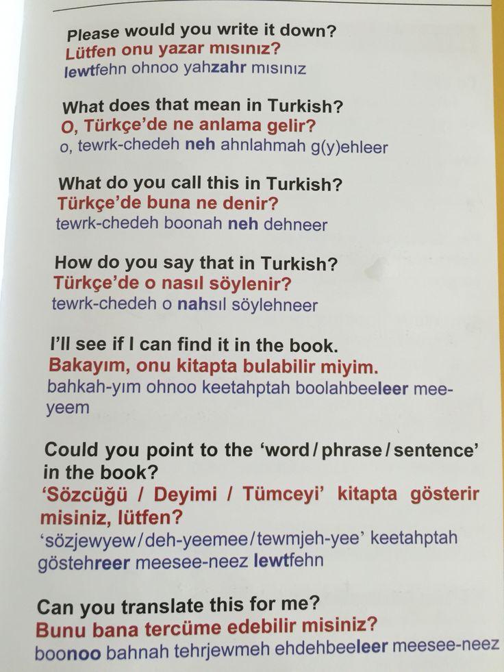 Dil sorunları - language problems 2