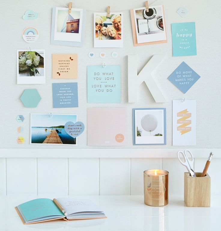 Find out how to create an inspiring Vision Board. Discover everything you need on our blog #kikkiK #dreams