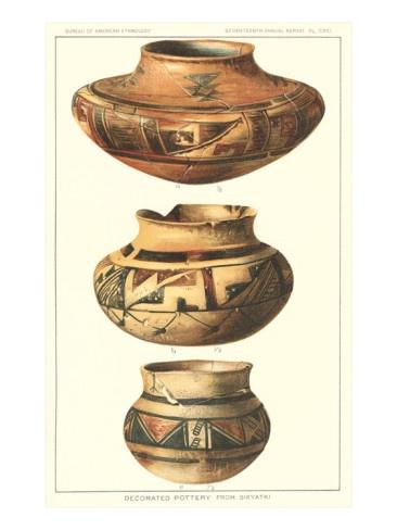 Hopi Polychrome Pots