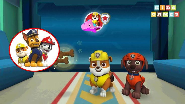 Nickelodeon Games to play online 2017 ♫Paw Patrol Pups to the Rescue - Episode 2♫ Kids Games