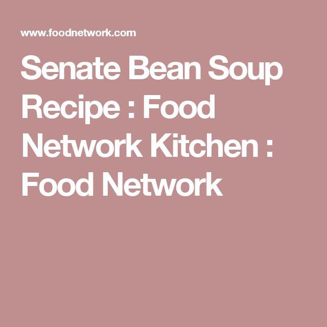 Senate Bean Soup Recipe : Food Network Kitchen : Food Network
