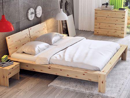 zirbenbett hanna mit zirbennachttisch stefan und. Black Bedroom Furniture Sets. Home Design Ideas