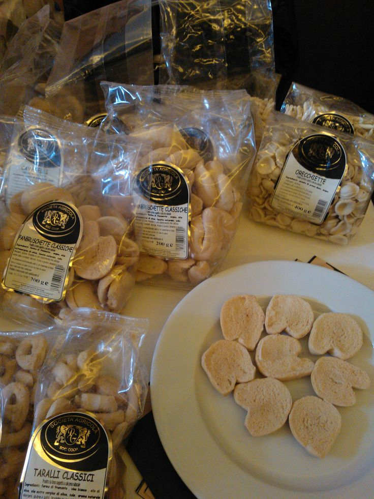 Apulian bakery products in Lithuania next March! We'll taste them with Baltic importers/buyers.
