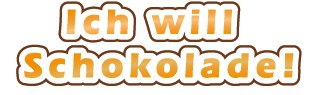 this is the ringtone for chocolate lovers! Download it here (mp3) http://www.schokoladen-outlet.de/outlet/klingelton-ich-will-schokolade/